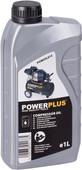 Powerplus Huile pour Compresseur 1 L
