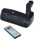 Jupio Battery Grip voor Canon 70D/80D