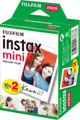 Fujifilm Instax Mini Colorfilm Glossy Pack 10x2