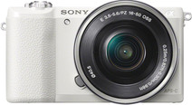Sony Alpha A5100 Blanc + 16-50 mm f/3.5-5.6 OSS