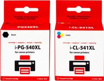 Pixeljet 540/541XL Lot de 4 Couleurs pour imprimantes Canon (5225B006)