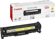 Canon CRG-718 Toner Jaune (2659B002)