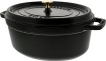 Staub Oval Dutch Oven 31cm Black