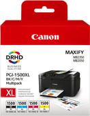 Canon PGI-1500XL Lot de 4 Couleurs (9182B004)