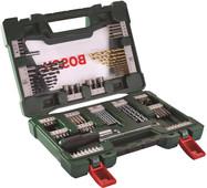Bosch set 91 pièces de forets et d'embouts avec tournevis et tige magnétique