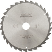 Metabo Saw blade 216x30x2,4mm 30T