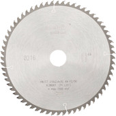 Metabo Saw blade 216x30x2,4mm 64T