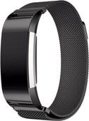 Just in Case Fitbit Charge 2 Bracelet de montre Milanais Noir