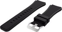 Just in Case Samsung Gear S3 Bracelet de Montre en Silicone Noir