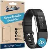 Just in Case Screen Protector Fitbit Charge 2 - 3 pack