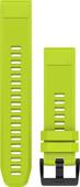 Garmin QuickFit 22mm Silicone Watch Strap Yellow