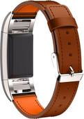 Just in Case Bracelet en Cuir Fitbit Charge 2 Marron clair