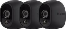 Arlo Wire-Free Camera Skin 3 Pack Black