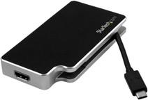 StarTech adaptateur audio / vidéo USB-C vers VGA, DVI ou HDMI - 4K