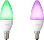 Philips Hue White and Color E14 Lot de 2