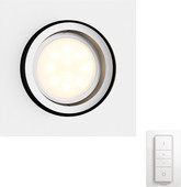 Philips Hue Milliskin Vierkant Wit Inclusief Dim Switch
