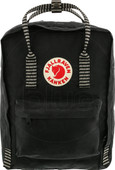 Fjällräven Kånken Black-Striped 16 L