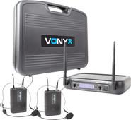 Vonyx WM73H (set with 2 headset microphones)