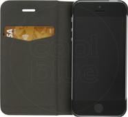 Azuri Booklet Ultra Thin Apple iPhone 5/5s/SE Coque à rabat Noir