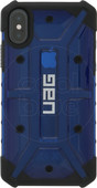 UAG Plasma Cobalt Apple iPhone X/Xs Back Cover Blauw