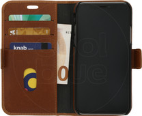 DBramante1928 Lynge Apple iPhone X Book Case Bruin