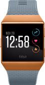 Fitbit Ionic Bleu ardoise et orange brûlée