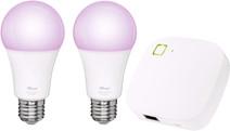 Trust Smart Home White and Color E27 Duopack + Z1 Bridge
