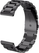 Just in Case Samsung Gear Sport Bracelet de Montre en Inox Noir