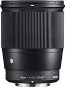 Sigma 16mm f/1.4 DC DN Contemporary Micro Four Thirds