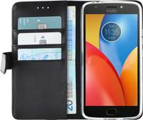Azuri Wallet Magnetic Motorola Moto E4 Plus Book Case Black