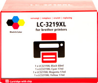 Pixeljet LC-3219XL 4-Color Pack for Brother (LC-3219XL)