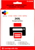 Pixeljet 24XL-Lot de 6 Couleurs pour Epson (C13T24384010)