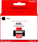 Pixeljet 34XL Noir pour Epson (C13T34614010)