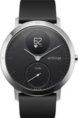 Withings Steel HR Argent/Noir 40 mm