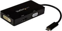 StarTech USB Type-C - VGA, DVI ou HDMI Station d'Accueil