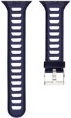 Just in Case Bracelet de montre en Silicone pour Apple Watch 38 mm Bleu/Blanc