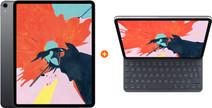 Apple iPad Pro (2018) 11 inch 256 GB Wifi Space Gray + Apple Smart Keyboard Folio AZERTY