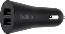 Belkin Car Charger Dual USB 24W Black