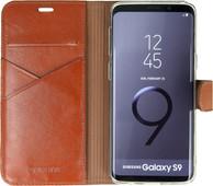Valenta Booklet Premium Galaxy S9 Book Case Bruin