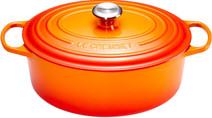Le Creuset Ovale Dutch Oven 29cm Flame Orange