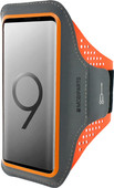 Mobiparts Comfort Fit Sportarmband Samsung Galaxy S9 Plus Oranje