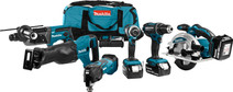Ensemble combiné Makita DLX6038T