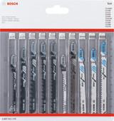 Bosch Professional 10-piece Jigsaw blade set