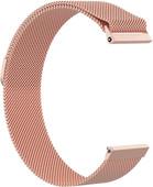 Just in Case Bracelet de montre Milanais Fitbit Versa Or Rose