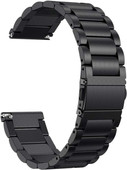 Just in Case Fitbit Versa Bracelet de Montre en Inox Noir
