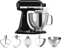 KitchenAid Artisan Mixeur 5KSM175PS Noir onyx
