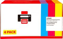 Pixeljet 203 Toner 4-pack (CF540A-543)