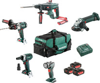 Metabo Construction & Rénovation - Ensemble combiné 5 machines