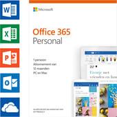 Microsoft Office 365 Personnel Abonnement 1 an NL (2018/2019)