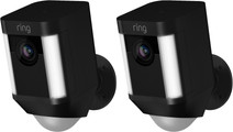 Ring Spotlight Cam Battery Black Duo Pack